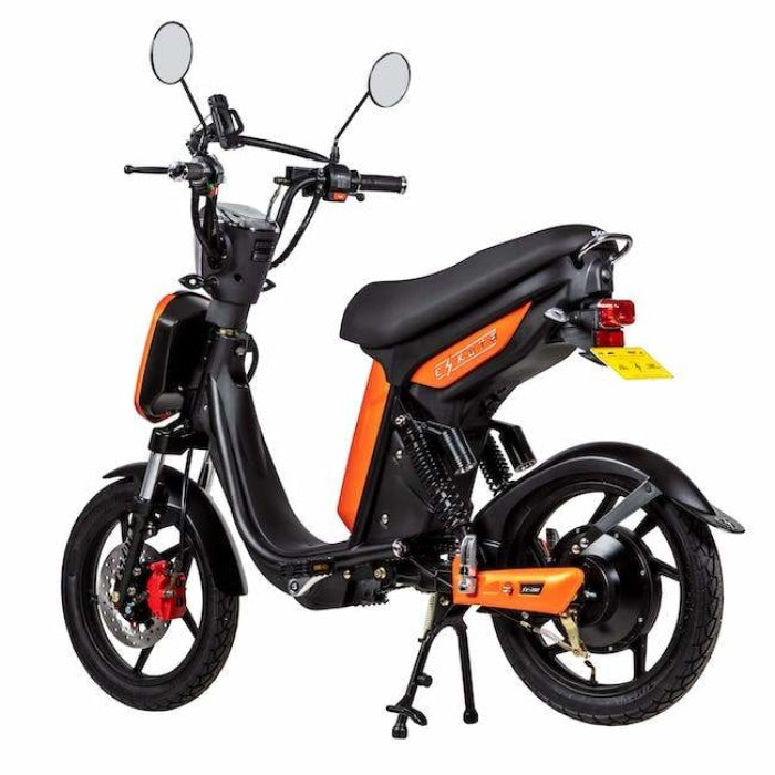 Eskuta Sx250 Eapc Electric Bike Orange Scooter