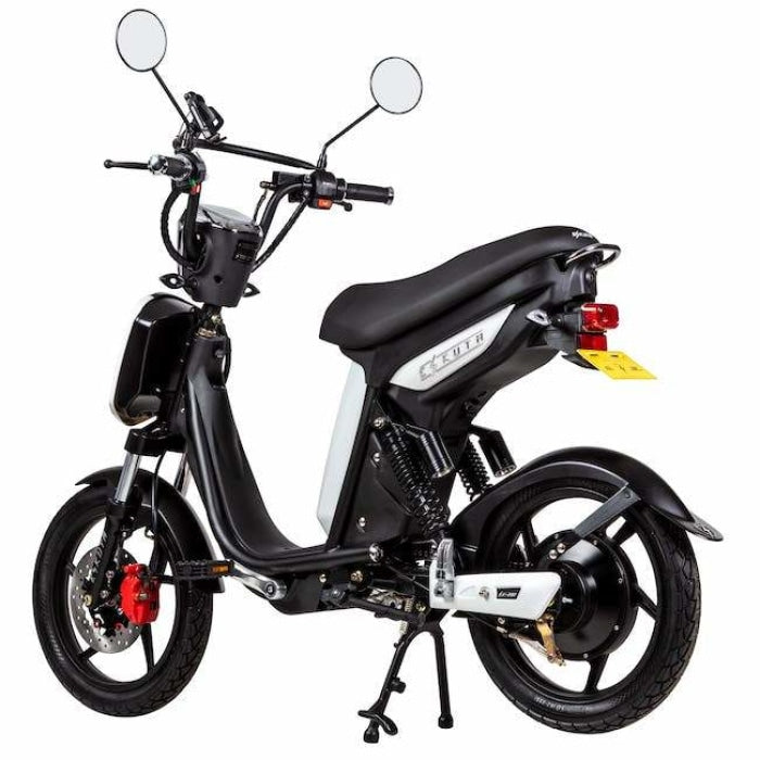 Eskuta Sx250 Eapc Electric Bike White Scooter
