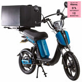 Eskuta Sx250D Eapc Electric Delivery Bike Blue Scooter