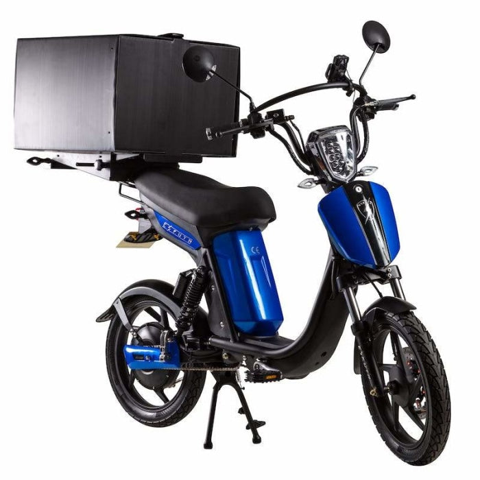 Eskuta Sx250D Eapc Electric Delivery Bike Gloss Blue Scooter