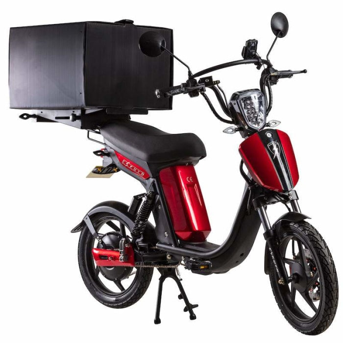 Eskuta Sx250D Eapc Electric Delivery Bike Gloss Candy Red Scooter