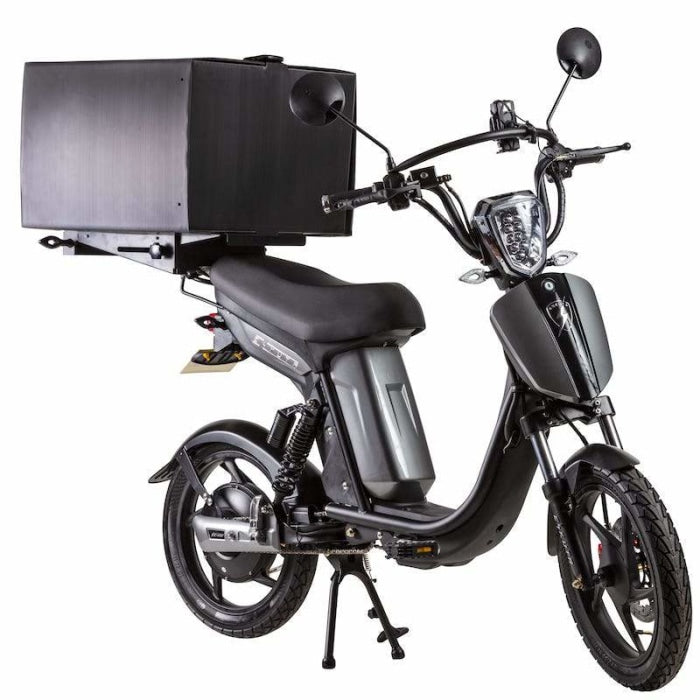 Eskuta Sx250D Eapc Electric Delivery Bike Gloss Grey Scooter