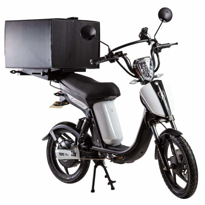 Eskuta Sx250D Eapc Electric Delivery Bike Gloss White Scooter