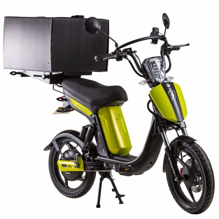 Eskuta Sx250D Eapc Electric Delivery Bike Matte Acid Yellow Scooter