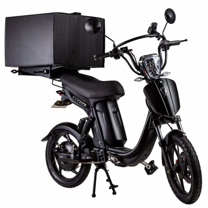 Eskuta Sx250D Eapc Electric Delivery Bike Matte Black Scooter