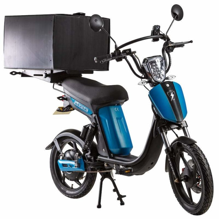 Eskuta Sx250D Eapc Electric Delivery Bike Matte Blue Scooter