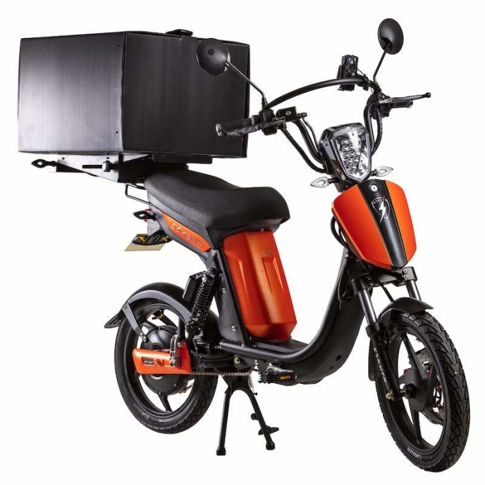 Eskuta Sx250D Eapc Electric Delivery Bike Matte Orange Scooter