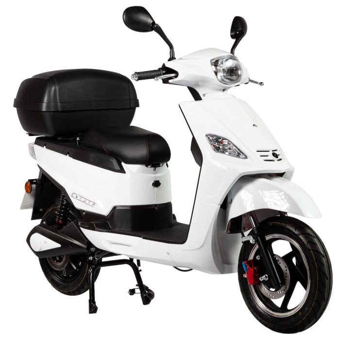 Sr-1200 Electric Scooter White