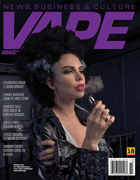 VAPE MAGAZINE OCTOBER 2015