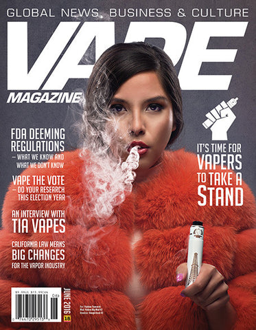 VAPE MAGAZINE JUNE 2016