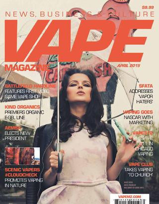 VAPE MAGAZINE APRIL 2015