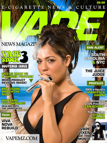 VAPE MAGAZINE APRIL 2013