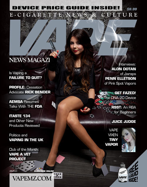VAPE MAGAZINE JUNE 2013