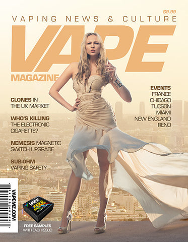 VAPE MAGAZINE APRIL 2014