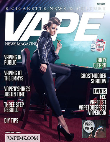VAPE MAGAZINE OCTOBER 2013