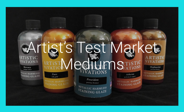 Artist's Test Market Mediums - Metallics