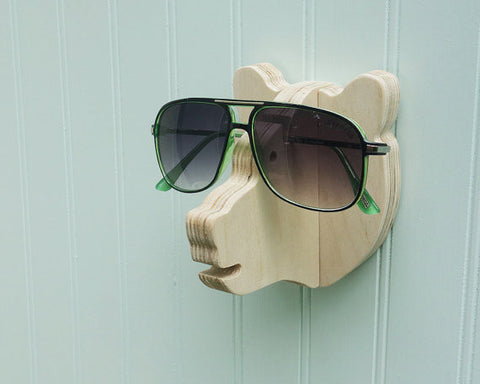 Key hook  Bearhead Sunglasses holder