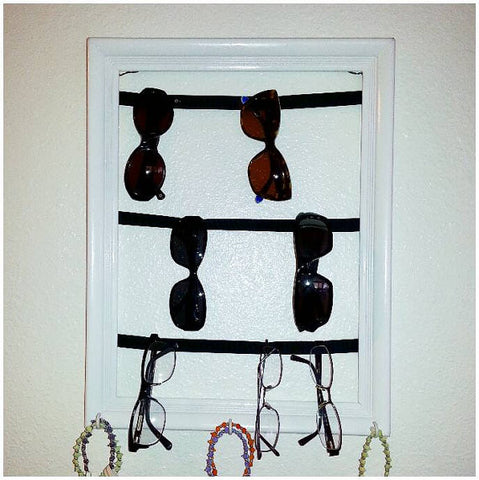 Sunglasses holder and organizer