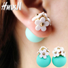 Ball Flower Earrings
