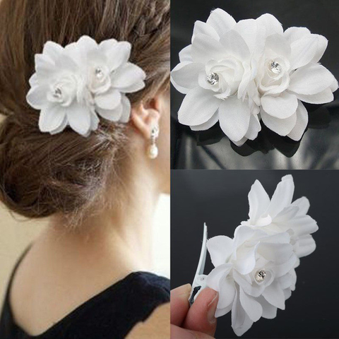 Orchid Flower Hairclip