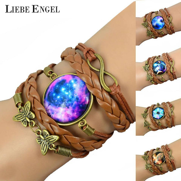 Galaxy Charm Barcelet