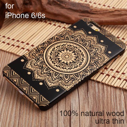 Natural wood Phone Cover