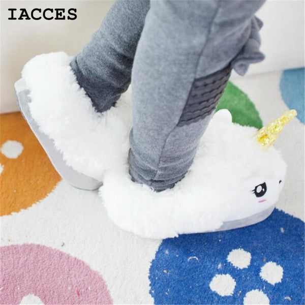 Unicorn Closed Heel Slippers