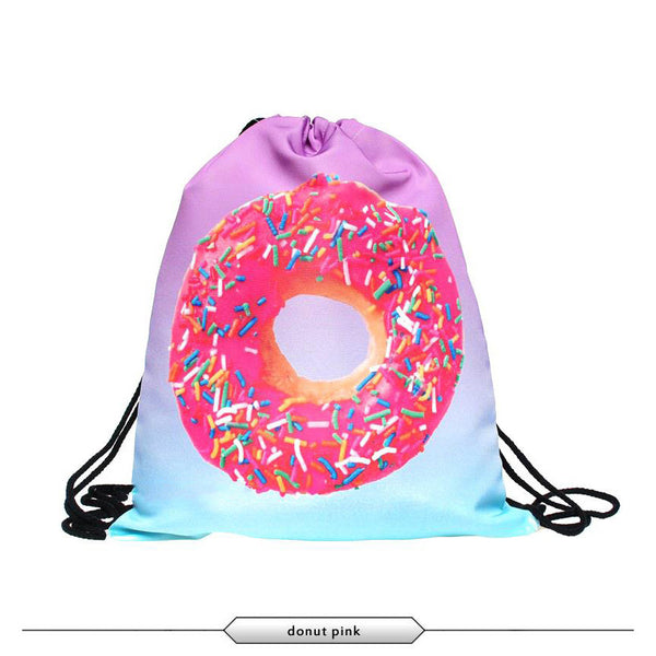 Simpsons Donut Bag