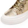 Golden High Top Sneakers