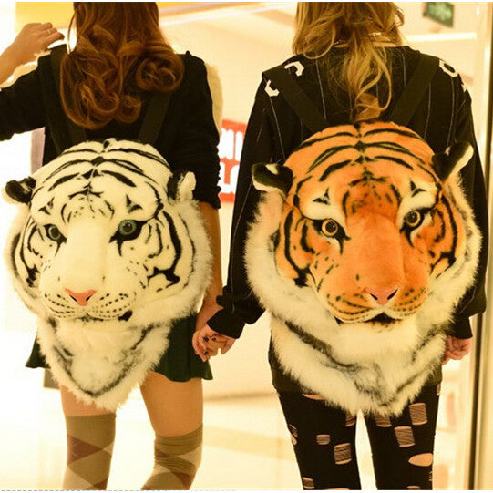 Luxury Tiger Head Backpack