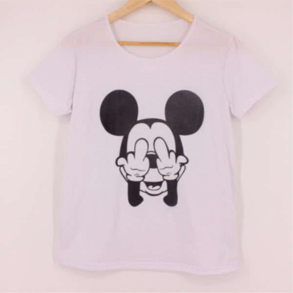 Rebel Mickey T-shirt