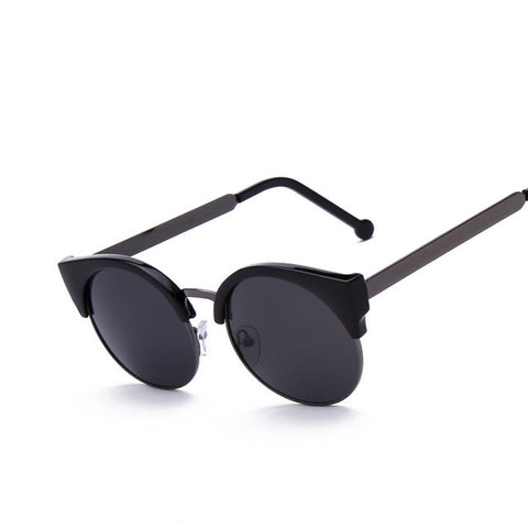 Round Cat Eye Sunglasses