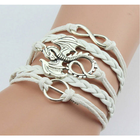 White Dragon Bracelet