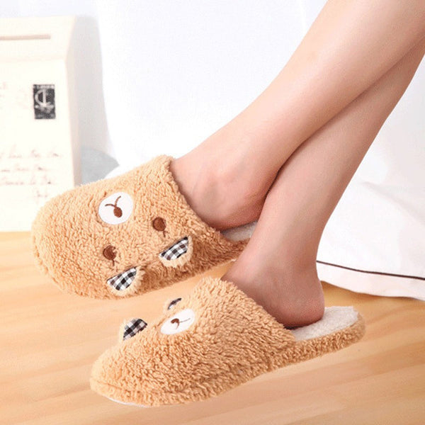 Cute Bear Slippers