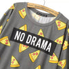 No Drama Pizza T-Shirt