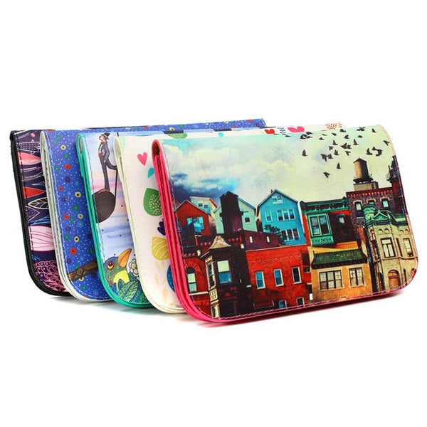 Art Clutch Bag
