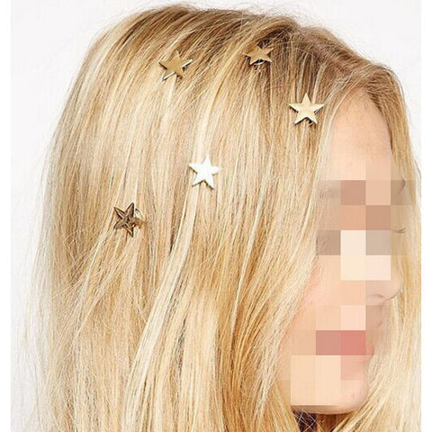 Star Design Hairpins
