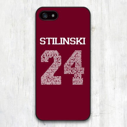 Teen Wolf Stilinski iPhone 4/5/6/6 Plus Case