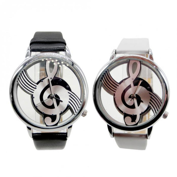 Music Treble Clef Watch