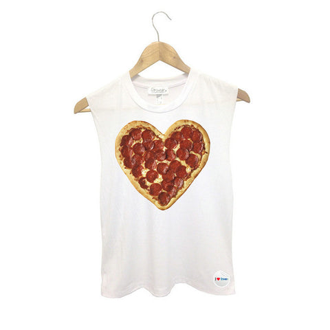 Pizza Heart Crop Top