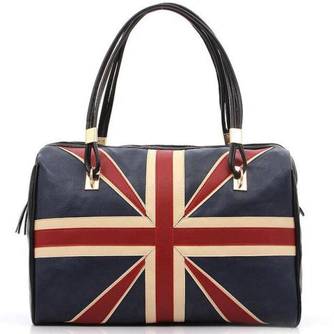 British Style Leather Handbag