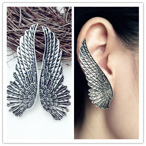 Wings Clip On Earring