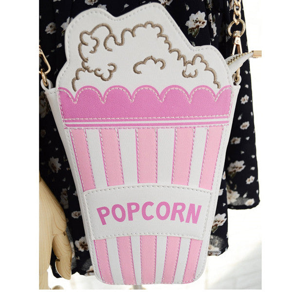 Popcorn Shoulder Bag