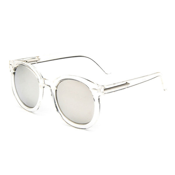 Transparent Frame Vintage Sunglasses