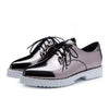 Mirror Leather Oxford Shoes