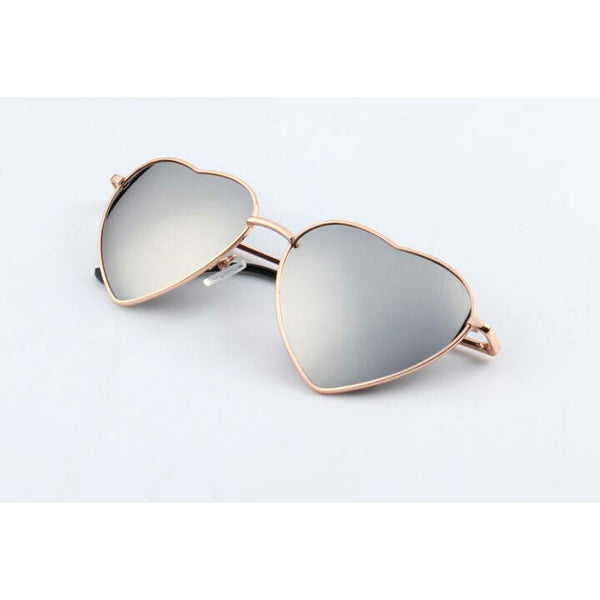 Heart Mirror Sunglasses