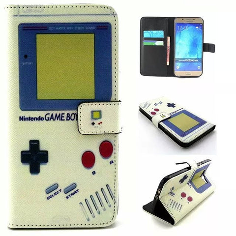 Gameboy Iphone 6 / Galaxy Leather Case