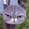 Funny Cat Face Shoulder Bag