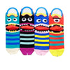 Striped Hungry Monster Socks