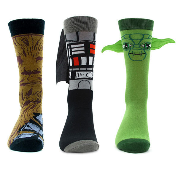Star Wars Character Socks
